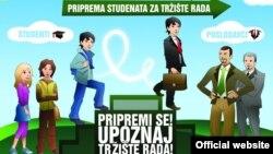 Jedan od ranijih projekata edukacije mladih u Crnoj Gori o mogućem zaposlenju