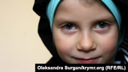 Мумине, средняя дочь Руслана и Мерьем Зейтуллаевых
