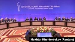 11-й раунд переговоров в рамках так называемого Астанинского процесса по Сирии. Астана (после переименования в марте – Нур-Султан), 29 ноября 2018 года.