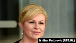 Хрватската претседателка Колинда Грабар Китаровиќ