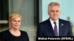 Kolinda Grabar Kitarović i Tomislav Nikolić