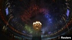 Паралимпиада ойындарының ашылу салтанаты. Лондон, 29 тамыз 2012 жыл.