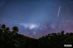 رد ماهواره استارلینک در آسمان برزیل