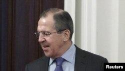 Министр иностранных дел России Сергей Ларов