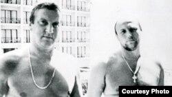 Геннадій Петров (л) та Олександр Малишев, петербурзькі «злодії в законі» часів 90-х (фото, надане Агентством журналістських розслідувань)