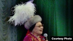 Советская и казахская певица Роза Багланова.