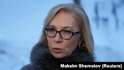 Людмила Денісова повідомила, що 21 лютого провела розмову з російською колегою в коридорі будівлі парламенту Греції