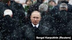 Президент Росії Володимир Путін. Москва, 23 лютого 2017 року