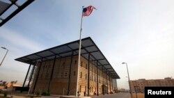 Одно из зданий на территории посольства США в Багдаде.