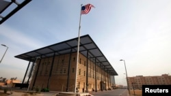 The U.S. embassy in Baghdad. File photo.