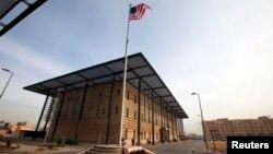 Комплекс зданий посольства США в Багдаде.