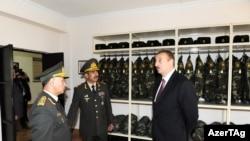 Ramil Usubov, Zakir Həsənov və İlham Əliyev