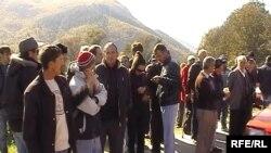 Протест на жителите на Осломеј