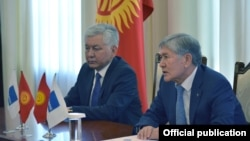 Алмосбек Отамбоев ва Исо Омурқулов