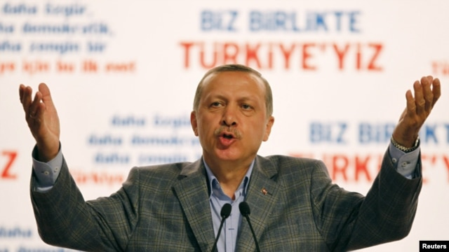 """September 12 will go down in history as a turning point in Turkish democracy,"" Prime Minister Recep Tayyip Erdogan told reporters in Istanbul."