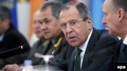 Рускиот министер за надворешни работи Сергеј Лавров.