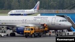 Самолеты первой и совсем недавно второй по размерам авиакомпаний России