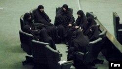 گروهی از نمایندگان زن مجلس ایران