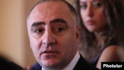 Начальник Специальной следственной службы Армении Сасун Хачатрян, Ереван, 16 августа 2018 г.
