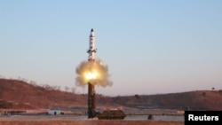 Запуск ракети в Північній Кореї
