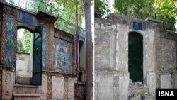 تمامی ملحقات نفیس خانهای که منسوب به پدر چای ایران است به غارت رفته است.