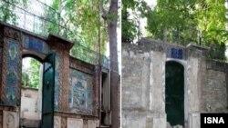 غارت کاشیها و آثار ارزشمند خانه «پدر چای ایران»