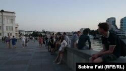 Sevastopol, Crimeea 2016: seara pe faleză