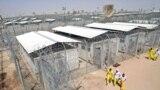 معتقلون عراقيون سابقون في سجن بوكا قرب البصرة