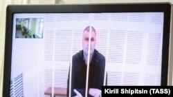 Министр лесного комплекса Иркутской области Сергей Шеверда (по видеосвязи), обвиняемый в превышении должностных полномочий
