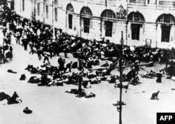 Разгон демонстрации в Петрограде, 4 июля 1917 года