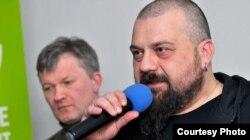 Сяргей Шупа і Аляксандар Памідораў. Фота: budzma.org