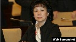 Депутат, Қазақстандағы бала құқығы омбудсмені Зағипа Балиева.