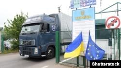 Пункт пропуску «Шегині-Медика» у Львівській області на кордоні з Польщею