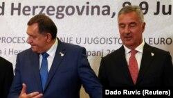 Milorad Dodik i Milo Đukanović
