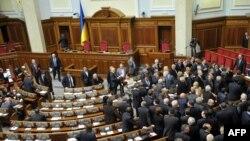 Голосование за новую коалицию в Верховной Раде, 11 марта 2010