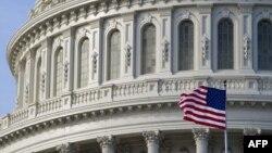 АҚШ конгресінің отырыстары өтетін Капитолий ғимараты.