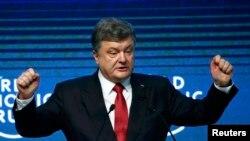 Украинскиот претседател Петро Порошенко.