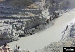 تصاویر منتشرشده خبرگزاری تسنیم از منطقه درگیری