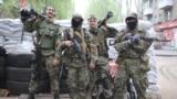 Боевики в Славянске, 2 мая 2014 года