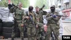 Проросійкі бойовики, архівне фото