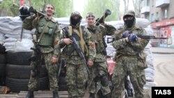 Проросійські бойовики на Донбасі, архівне фото