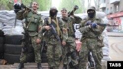 Проросійські озброєні сепаратисти у Слов'янську, 2 травня 2014 року