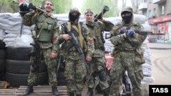 Проросійські сепаратисти в Слов'янську, 2 травня 2014 року