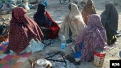بلوچستان: د زیارت سیمې یو شمېر ښځې