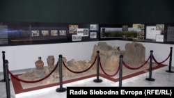 """Системот на жртвеници, пронајден во локалитетот """"Врбјанска чука"""", стар околу 7.000 години."""