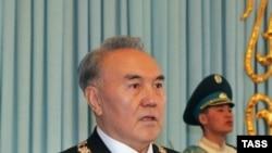 Нұрсұлтан Назарбаевтың инаугурациясы. Астана, 11 қаңтар 2006 жыл.
