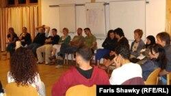 عراقيون في ورشة عمل بالمانيا