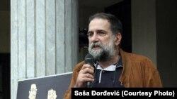 Predsednik NUNS-a Vukašin Obradović