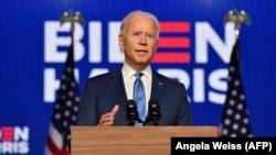 Joe Biden, 2020. november 6.