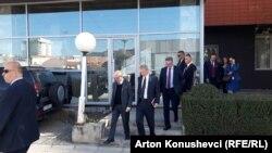 Predstavnici međunarodne zajednice nakon sastanka sa predsednikom Kosova Hašimom Tačijem